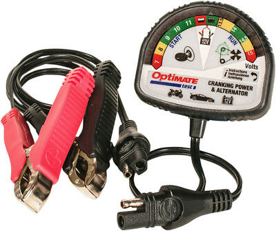Tecmate OptiMate Test Cranking & Alternator SAE 2 Pin Connector 12v TS-121