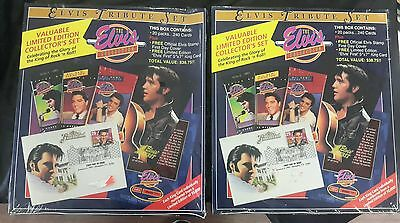 Elvis Tribute Set Boxes 1 & 2 Of 5, Sealed! Limited Edition Collector's Sets