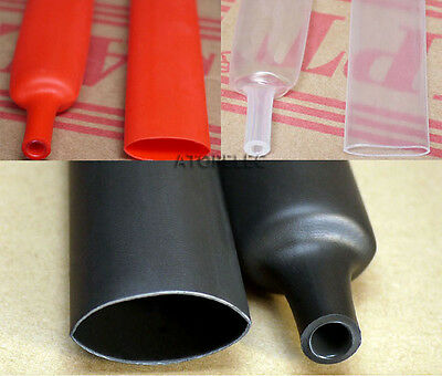 4-52mm Diameter Adhesive Lined 4:1 Heat Shrink Tube Wrap Dual-wall Waterproof