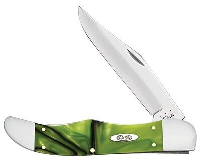 Case XX Knife 35803 ~ Toxxin Green Kirinite Folding Hunter ~ New in Box