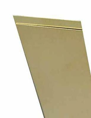 "K&S 243 Metal Brass Strip, 12"" x .032"" x 3/4"""