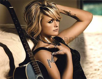Miranda Lambert - Country Music Star - Authentic Autographed 11x14 Photograph