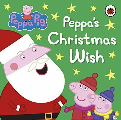 Peppa Pig: Peppa's Christmas Wish by Ladybird Book The Cheap Fast Free Post