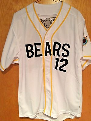 The Bad News Bears #12 Tanner Boyle Baseball Jersey Sewn Numbers S, M, L, XL,XXL