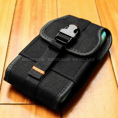 NEW iPhone 8 7 7 Plus 6 6S Plus Nylon Heavy Duty Holster Clip Pouch Cover Case