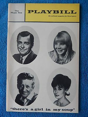 There's A Girl In My Soup - Music Box Theatre Playbill - November 1967 - Young