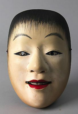 Japanese Noh Mask depicting Douji character #C07