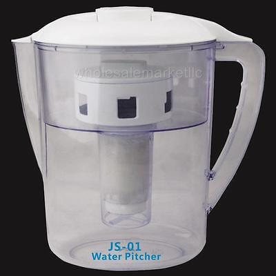 Water Filter Pitcher 5 Stage Chlorine Fluoride Purification 2L / 8 Cup Capacity