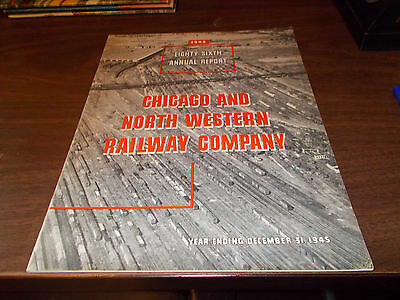 1945 Chicago and North Western Railway Company Annual Report