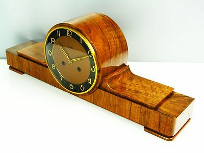 A Big Pure  Art Deco  Kienzle  Chiming Mantel Clock
