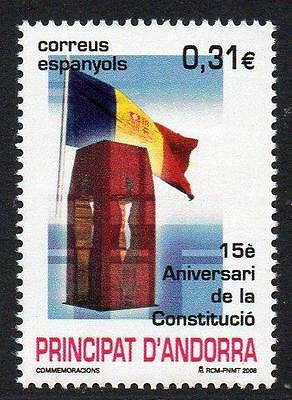 ANDORRA (SPAIN) MNH 2008 75th Anniversary of the Constitution