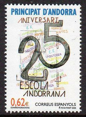 ANDORRA (SPAIN) MNH 2009 25th Anniversary of Andorra's School
