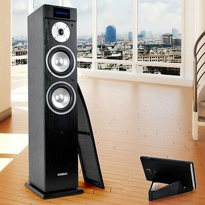 hi fi sound tower musik stereo anlage box usb aux. Black Bedroom Furniture Sets. Home Design Ideas
