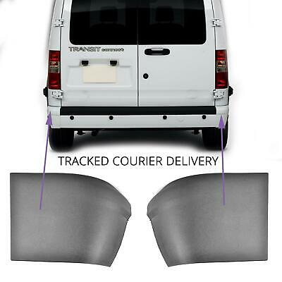 Pair Right And Left  Rear Bumper Corner End Caps for Ford Transit Connect