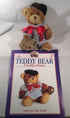 """Collectable The Teddy Bear Collection No.2 """"Alphonse The Artist"""" Magazine"""