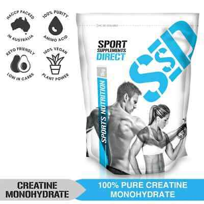 3Kg Micronised Pure Creatine Monohydrate - 3 X 1Kg - Hplc Tested - Certified