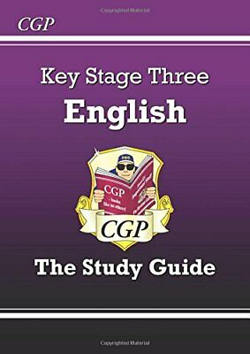 KS3 English Study Guide, CGP Books Paperback Book The Cheap Fast Free Post