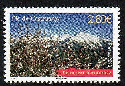 ANDORRA (FRENCH) MNH 2010 Casamanya Mountain