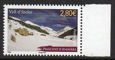 ANDORRA (FRENCH) MNH 2008 Incles Valley