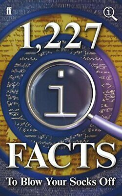 1,227 QI Facts To Blow Your Socks Off by Harkin, James Book The Cheap Fast Free