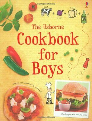 The Cookbook for Boys (Usborne First Cookbo... by Wheatley, Abigail Spiral bound