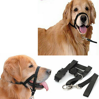 New Pet Dog Puppy Muzzle Grooming Anti Bite Guardian Anti Bark Mouth Adjustable