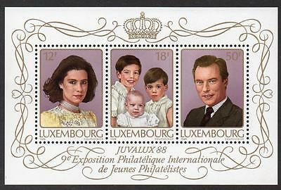 Luxembourg Mnh 1988 Juvalux 88