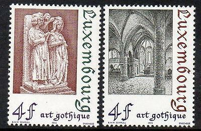 LUXEMBOURG MNH 1974 Gothic Art