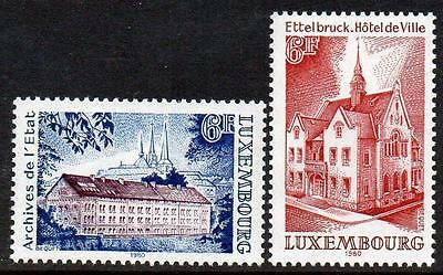 LUXEMBOURG MNH 1980 Historic Buildings