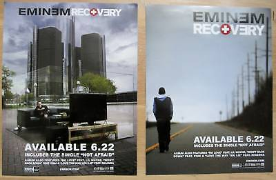 Eminem - RECOVERY 2-Sided Mini Promo Poster - NM