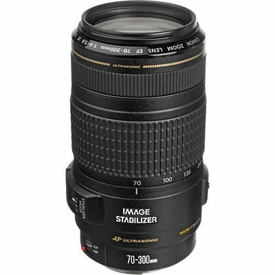 Canon EF 70-300mm f/4-5.6 IS USM Zoom Lens 0345B002