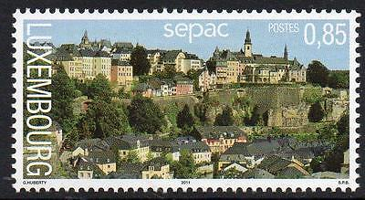 LUXEMBOURG MNH 2011 SEPAC Issue - Landscapes