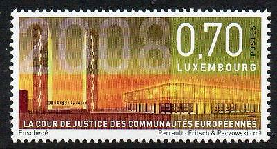 LUXEMBOURG MNH 2008 Court of Justice of the European Communities