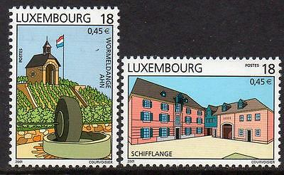 LUXEMBOURG MNH 2001 Tourist Attractions