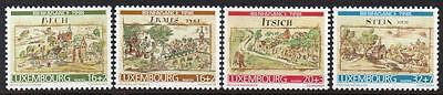 LUXEMBOURG MNH 1998 Town Views from National Archives