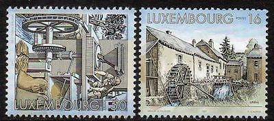 LUXEMBOURG MNH 1997 Watermills