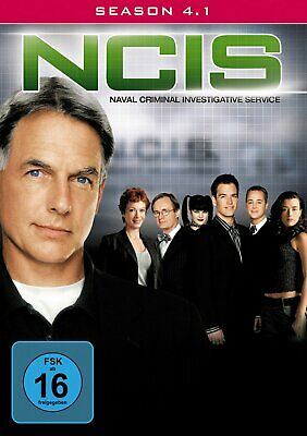 NCIS - Navy CIS - Season/Staffel 4.1 # 3-DVD-BOX-NEU