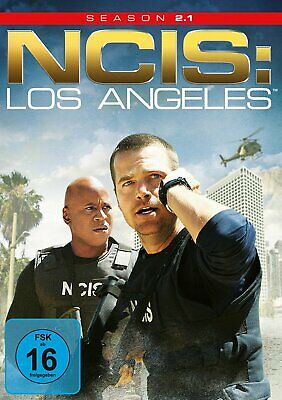 NCIS: Los Angeles (Navy CIS LA) - Season/Staffel 2.1 # 3-DVD-BOX-NEU