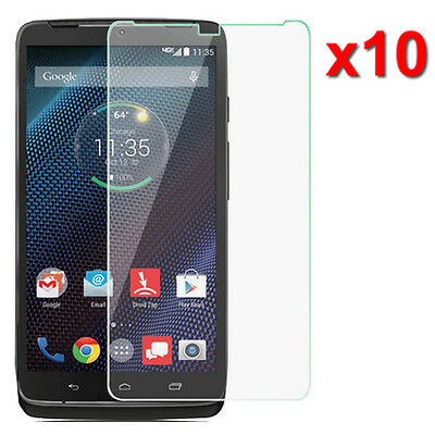 10X Crystal Clear LCD Screen Protector Film For Motorola DROID Turbo XT1254