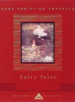 Fairy Tales by Hans Christian Andersen (English) Hardcover Book Free Shipping!