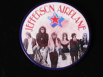 "Jefferson Airplane-ORIGINAL 1969 Volunteers PROMO Vari-Vue ""Flasher"" Pinback!"