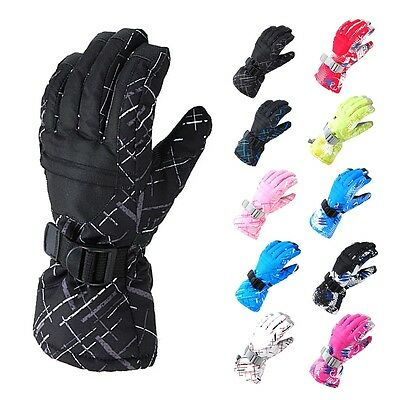 Men/Women Winter Sports Warm Waterproof Snow Cycling Snowboard Ski Gloves New