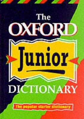 OXFORD JUNIOR DICTIONARY (NEW ED) Hardback Book The Cheap Fast Free Post