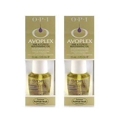OPI Avoplex Nail & Cuticle Replenishing Oil ~ PACK OF 2x15ML ~