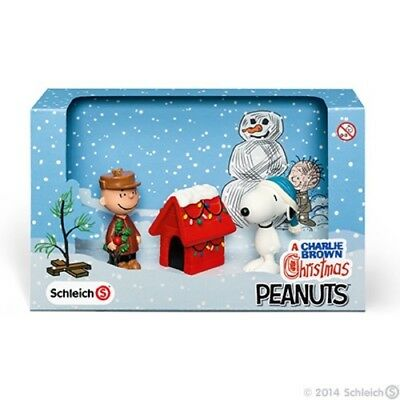 Peanuts Scenery Pack Christmas by Schleich - A Charlie Brown Christmas - 22017