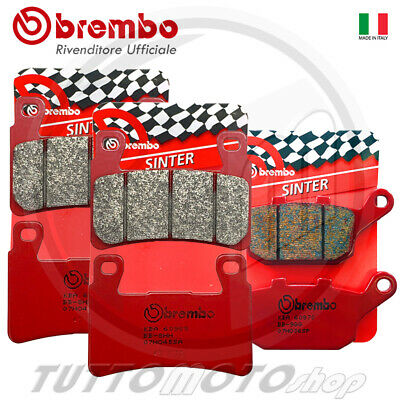 Kit Pastiglie Freno Brembo Rosse Sinter Ant + Post  Honda Cbr 600 F 2003 2004