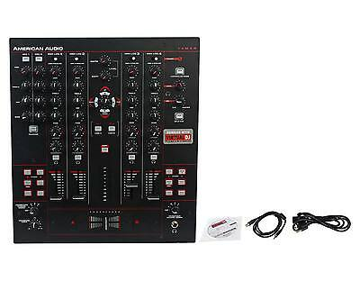 American Audio 14MXR MIDI/Analog 4-Channel DJ Mixer & Controller With USB Port