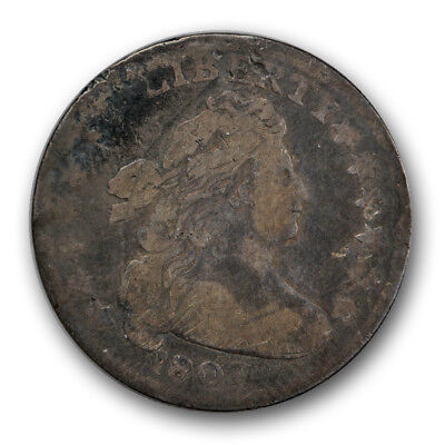 1807 10C Draped Bust Dime Very Good VG US Type Coin R167