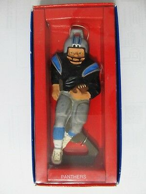 New in Box Classic Topper Poppers Carolina Panthers Cast Iron Bottle Opener NFL