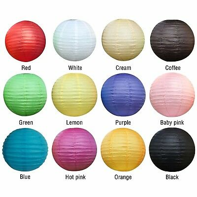 Multi Color Small Round Paper Lantern Lamp for Wedding Birthday Party TR9321